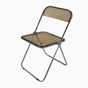 Vintage Plia Folding Chair by Giancarlo Piretti for Castelli, 1970s