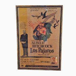 Spanish Film Poster for The Birds (Los Pajaros)
