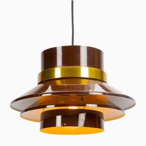 Brown Pendant Lamp by Carl Thore for Granhaga Metalindustri