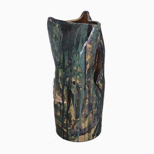 Vase by Umberto Ghersi for Lucio Fontana, 1977