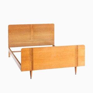 Sofá cama vintage de roble, años 60