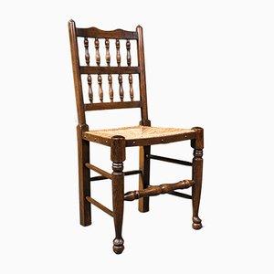 Antike Lancashire Stühle aus Buche mit Spindelstühlen, 1910er, 12er Set