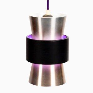 Danish Purple Pendant Lamp from Lyfa