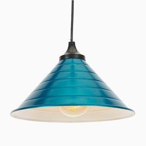 Vintage Turquoise Pendant Lamp