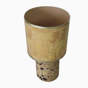 Cork Lamp from Banci Firenze, 1970s