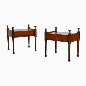 Teak Bedside Tables from Gautier, France, 1960s, Set of 2
