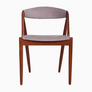 Sedie da pranzo nr. 31 di Kai Kristiansen per Schou Andersen, anni '60, set di 6