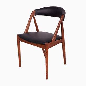 Sedie da pranzo nr. 31 di Kai Kristiansen per Schou Andersen, anni '60, set di 4