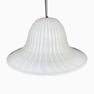 Vintage Murano Glass Tulip Pendant Lamp, Italy, 1970s