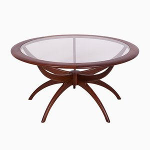 Round Spider Coffee Table by Victor Wilkins for G-Plan, 1960s