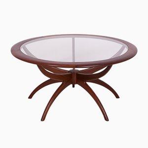 Tavolino da caffè rotondo di Victor Wilkins per G-Plan, anni '60
