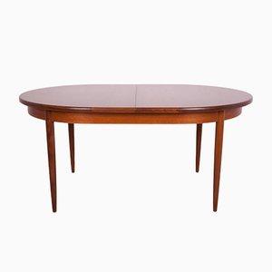 Tavolo da pranzo ovale Mid-Century in teak di G-Plan, anni '60