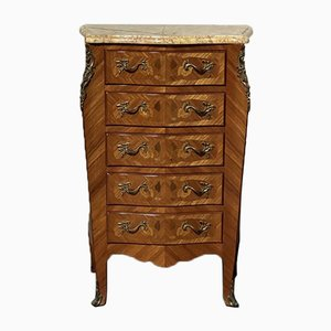 French Marquetry Chest of Drawers