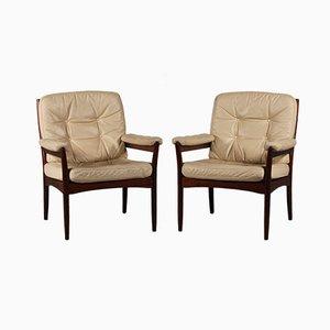 Lounge Armlehnstühle von Gôte Möbler Nassjô, 2er Set