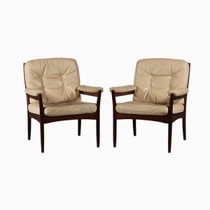 Lounge Chairs by Gôte Möbler Nassjô, Set of 2