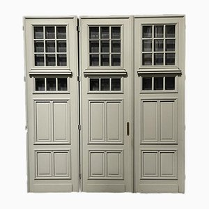 19th Century French Chateau Doors, Set of 3