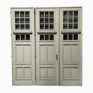 Französische Schloss Türen, 19. Jh., 3er Set