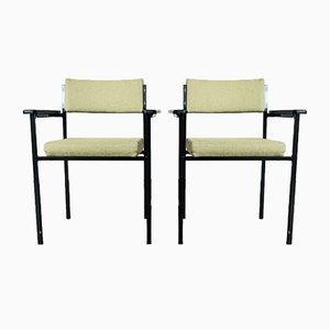 Mid-Century Modern Armlehnstühle, 1960er, 2er Set