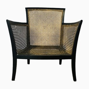 Antique Bergère Chair by Bowman Brothers of London