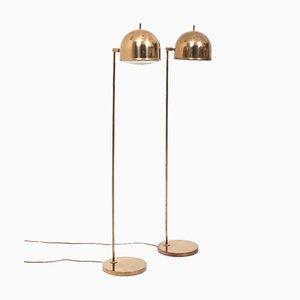 Lámparas de pie G-075 de Bergboms. Juego de 2