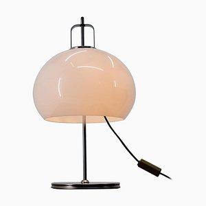 Große Tischlampe von Harvey Guzzini für Meblo, Italien, 1970er