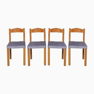Late Mid-Century Dining Chairs, Set of 4