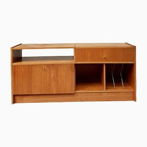 Mid-Century Media Record Player Sideboard