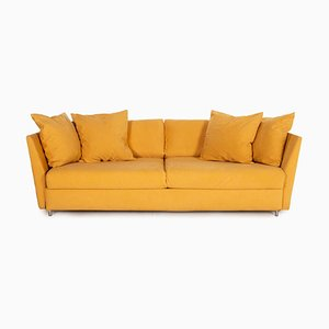 Ocher Four-Seater Couch from Brühl & Sippold