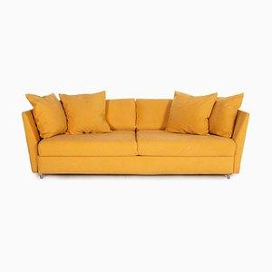 Ockerfarbenes Vier-Sitzer Sofa von Brühl & Sippold