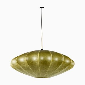 Mid-Century Saucer Cocoon Pendant Lamp by George Nelson, 1960s