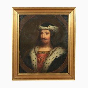 Portrait of Scottish Monarch