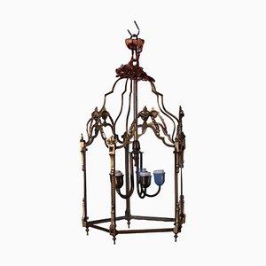 Brass Five-Light Lantern