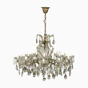 Lámpara de araña estilo Maria Theresa