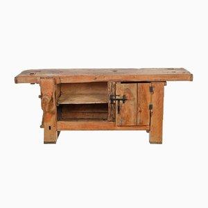 Mesa de taller de haya