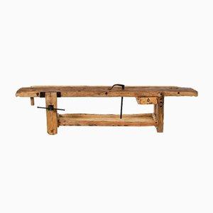 Mesa de taller de roble y tilo