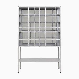 Mueble para whisky Ok con plato de aluminio mecanizado y encerado de Jonathan Nesci