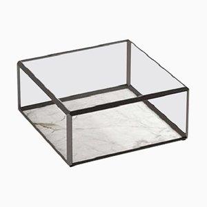 Mesa de centro Molteni & C45 con tablero de cristal de Ron Gilad