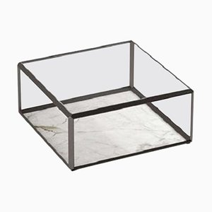 Tavolino da caffè Molteni & C45 con ripiano in cristallo di Ron Gilad