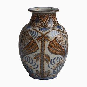 Danish Vase by Gertrud Kudielka for Hjort Ceramics Workshop, 1930s