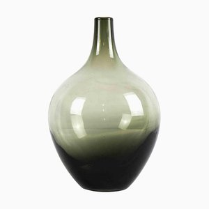 Vintage One Flower Glass Vase, 20th Century
