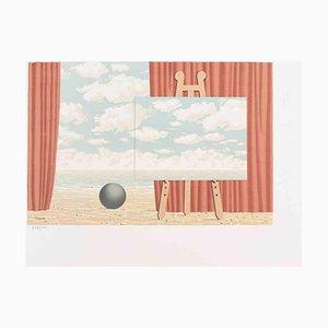 La Belle Captive, Original Lithographie nach René Magritte, 1969