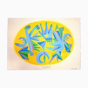 Leo Guida, Nell'Ovale, Obra de arte original, 1988