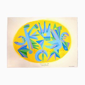 Leo Guida, Nell'Ovale, Original Artwork, 1988