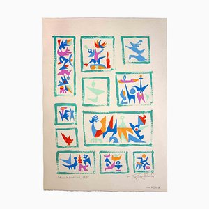 Leo Guida, Kleines Archiv, Original-Artworks, 1988