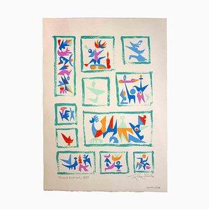 Leo Guida, Small Archive, Original Artwork, 1988