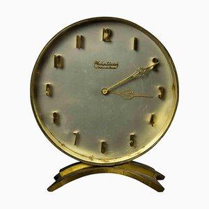 Vintage Philip Watch Table Clock, 20th Century