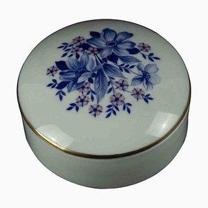 Vintage Porcelan Jewel Case, Italy