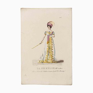 Godefroy Engelmann, Grands Théâtres de Paris - La Fée Melise, Litografia originale, XIX secolo