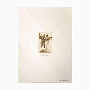Leo Guida, Venus and the Sapient, Original Print, 1975