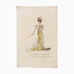 Godefroy Engelmann, Grands Théâtres de Paris - La Fée Melise, Original Lithographie, 19. Jh